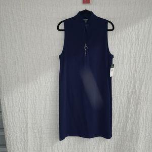 Ralph Lauren Dress Navy Blue NWT 1X